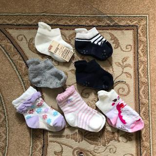 ムジルシリョウヒン(MUJI (無印良品))の13〜15cm  靴下セット 女児(靴下/タイツ)