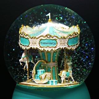 ティファニー(Tiffany & Co.)の★Tiffany&Co.オルゴール&スノードーム 海外VIP 非売品 プレゼント(置物)