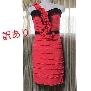 ビーシービージーマックスアズリア(BCBGMAXAZRIA)のBCBG MAXAZRIA ドレス ワンピース ティアード(ミニドレス)