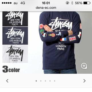 ステューシー(STUSSY)のstussy ロンT(Tシャツ/カットソー(七分/長袖))