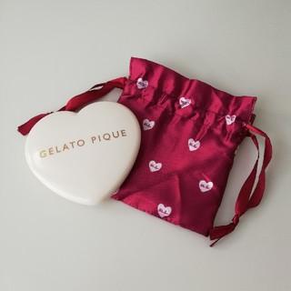 ジェラートピケ(gelato pique)のジェラート ピケ ピュアハートの朱肉付き印鑑ケース 巾着付き(印鑑/スタンプ/朱肉)