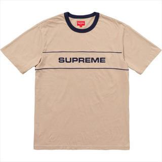 シュプリーム(Supreme)のsupreme team ringer tee(Tシャツ/カットソー(半袖/袖なし))