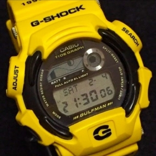 ジーショック(G-SHOCK)の希少!USLAコラボ GULFMAN DW-9700UL-9T G-SHOCK(腕時計(デジタル))