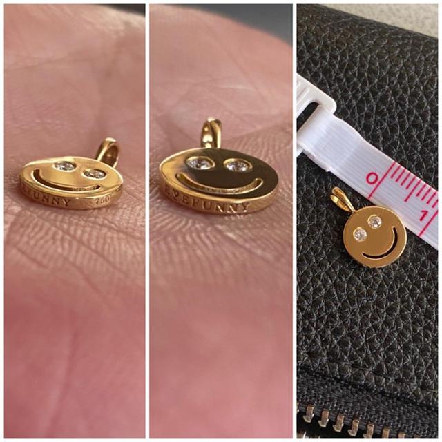 EYEFUNNY(アイファニー)のアイファニー スマイルS メンズのアクセサリー(ネックレス)の商品写真
