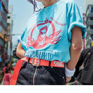 エックスガール(X-girl)のx-girl FACE 限定Tシャツ(Tシャツ(半袖/袖なし))