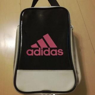 アディダス(adidas)のアディダス  シューズケース  エナメル  スポーツ(シューズバッグ)