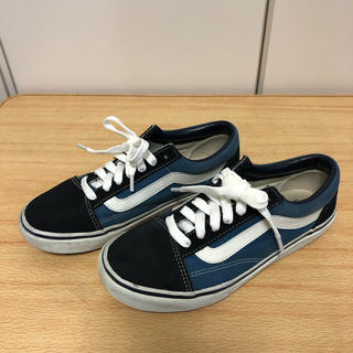 VANS - vans  V36CL+ OLD SKOOL DXNAVY556436-0002