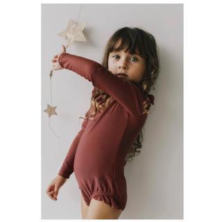 キャラメルベビー&チャイルド(Caramel baby&child )のタイムセール jamie kay ジェイミーケイ フリルスイムスーツ 水着 3Y(水着)