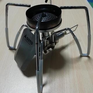 シンフジパートナー(新富士バーナー)のsoto ガスバーナーぴったり風防&シリコンチューブ(調理器具)