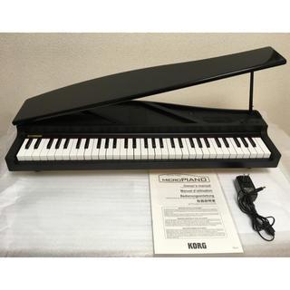 コルグ(KORG)のKORG ( コルグ ) microPIANO BK【ブラック】(電子ピアノ)