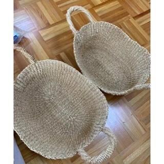 ムジルシリョウヒン(MUJI (無印良品))の無印良品 バスケット2つ(バスケット/かご)