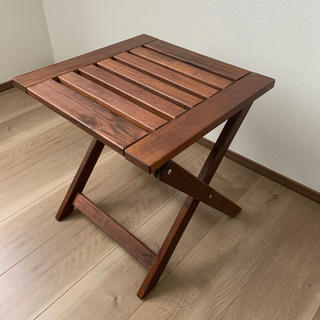 イケア(IKEA)のIKEA  スツール折り畳み式(折り畳みイス)