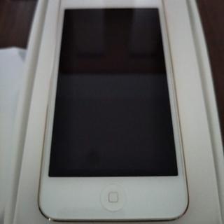 アイポッドタッチ(iPod touch)のiPod touch 第6世代 32GB シャンパンゴールド(ポータブルプレーヤー)