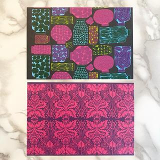 マリメッコ(marimekko)の【新入荷!】マリメッコ ポストカード 2枚セット At(その他)