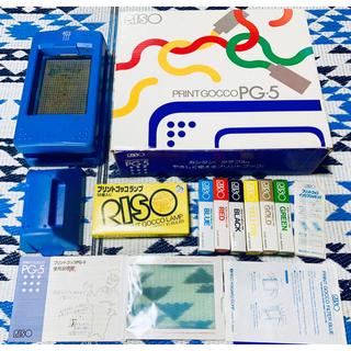 RISOU - プリントゴッコ PG5 VHS 先生ビデオ付き