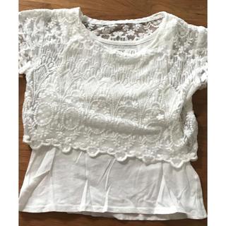 エイチアンドエム(H&M)のH&Mの半袖カットソー 110cm(Tシャツ/カットソー)