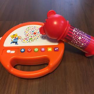 こどもチャレンジ 音タンバリン&エコーマイク(知育玩具)