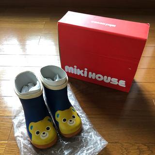 ミキハウス(mikihouse)の【最終価格!ミキハウス】長靴(くま)15cm(長靴/レインシューズ)
