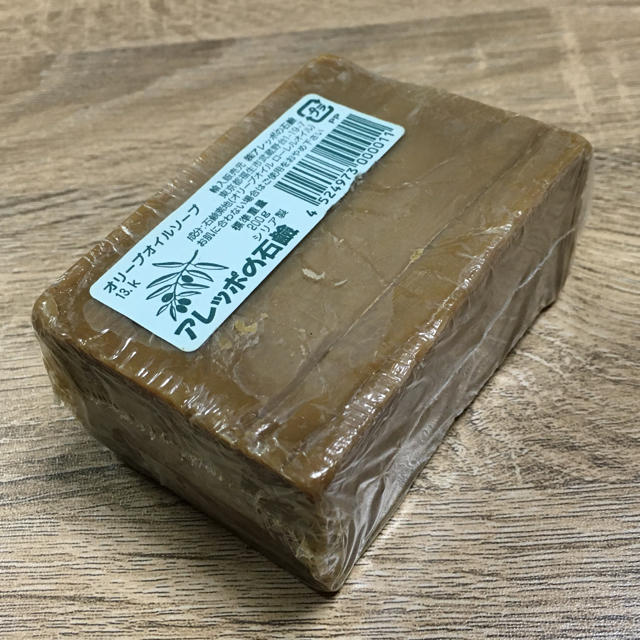 アレッポの石鹸(アレッポノセッケン)のアレッポの石鹸 オリーブオイルソープ コスメ/美容のボディケア(ボディソープ/石鹸)の商品写真