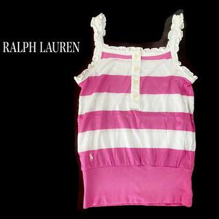 ラルフローレン(Ralph Lauren)のRalph Lauren ラルフローレン キャミソール 120 女の子 トップス(Tシャツ/カットソー)
