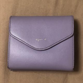 アニエスベー(agnes b.)のKW01‐02 ava ミニウォレット アニエスベー 二つ折り 財布 パープル(折り財布)