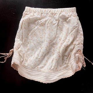 キムラタン(キムラタン)のスカート  110  ピッチーノ ミニスカート  キムラタン 女の子 花柄(スカート)