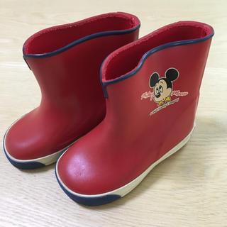 ディズニー(Disney)のミッキー  長靴  12EE(長靴/レインシューズ)