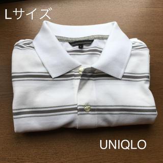 ユニクロ(UNIQLO)のポロシャツ ボーダー(ポロシャツ)