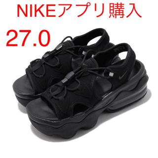ナイキ(NIKE)のナイキ ウィメンズ エアマックス ココ サンダル ブラック 27.0cm(サンダル)
