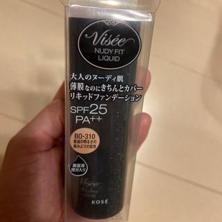 ヴィセ(VISEE)の【新品】コーセー ヴィセ リシェ ヌーディフィットリキッド BO-310(ファンデーション)