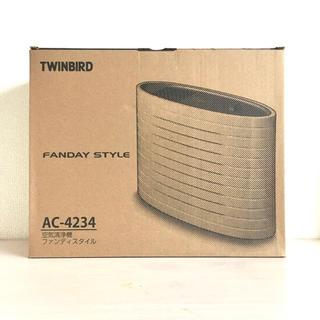 ツインバード(TWINBIRD)の空気清浄機ツインバード ファンディスタイル ホワイト AC-4234W(空気清浄器)
