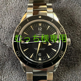 オメガ(OMEGA)のむっち様専用 OMEGA オメガ シーマスター300 マスターコーアクシャル (腕時計(アナログ))