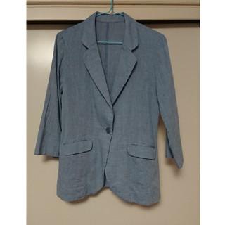 アンナルナ(ANNA LUNA)のジャケット 七分袖☆爽やかブルー(テーラードジャケット)