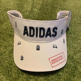 アディダス(adidas)のadidasサンバイザー(サンバイザー)