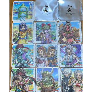 スクウェアエニックス(SQUARE ENIX)のドラクエ10 コースター 10枚セット(ゲームキャラクター)