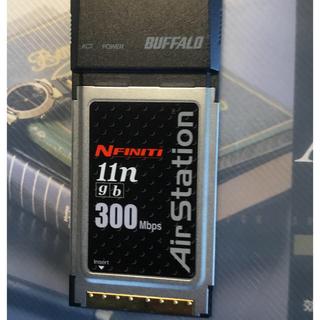 バッファロー(Buffalo)のAirstation 無線子機cardbus  WLI2-CB-G300N(PC周辺機器)