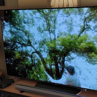 エルジーエレクトロニクス(LG Electronics)のLG 65V型 有機EL テレビ OLED65B6P 4K 外付けHDD裏番組録(テレビ)