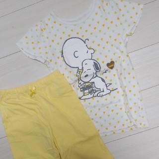 ジーユー(GU)のめぐみ様へ☆140cm GUスヌーピー パジャマ 上下 半袖(パジャマ)