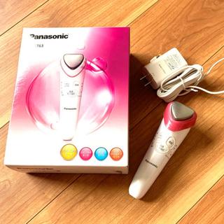 パナソニック(Panasonic)のPanasonic美顔器イオンエフェクターEH-ST63-P美品パナソニック(フェイスケア/美顔器)