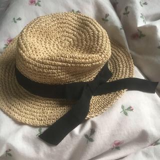 ロキエ(Lochie)の麦わら帽子(麦わら帽子/ストローハット)
