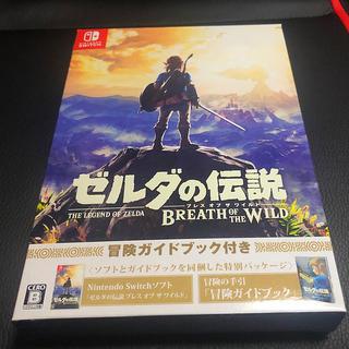 ゼルダの伝説 ブレス オブ ザ ワイルド ~冒険ガイドブック付き~ 新品(家庭用ゲームソフト)