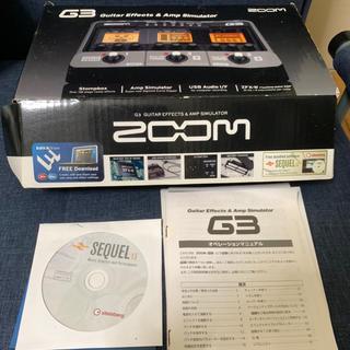 ズーム(Zoom)のzoom G3 マルチエフェクター ギター用(エフェクター)