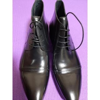 PRADA - プラダ ブーツ ブラック 42  26.5-27cm 未使用