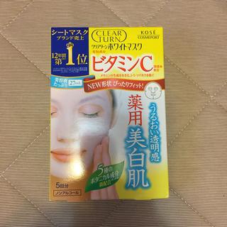 コーセーコスメポート(KOSE COSMEPORT)のKOSE  クリアターン  ホワイトマスク ビタミンC(パック/フェイスマスク)