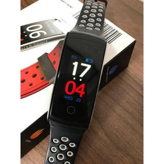 【送料込み】Greatever スマートウォッチ 腕時計 グレー(腕時計(デジタル))