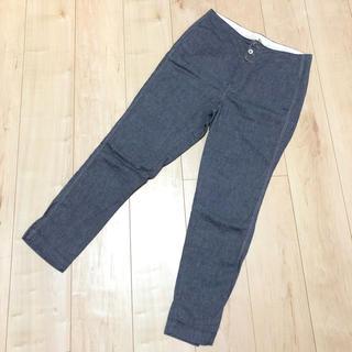 フォーティーファイブアールピーエム(45rpm)の美品 45R  パンツ コットン リネン ズボン(カジュアルパンツ)