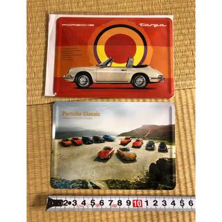 ポルシェ(Porsche)のポルシェノベルティー スチールポストカード(ノベルティグッズ)