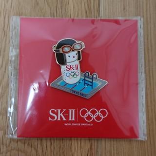 エスケーツー(SK-II)のSK-II オリンピックピンバッジ 水泳(バッジ/ピンバッジ)