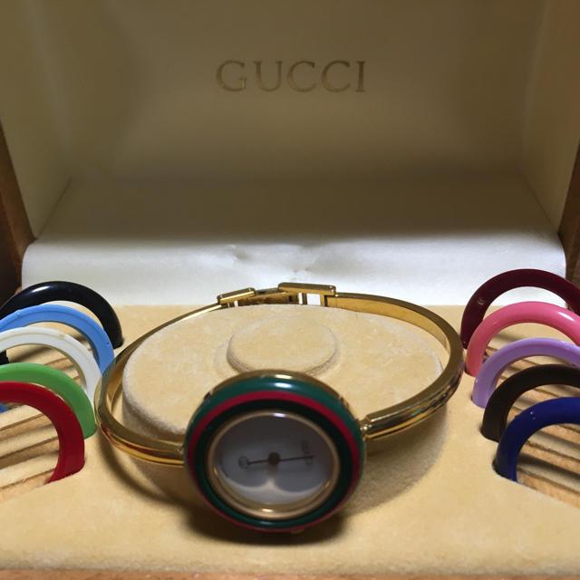big sale 26a6d 6743e GUCCI ビンテージ腕時計 | フリマアプリ ラクマ