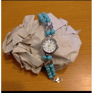 アビステ(ABISTE)の《美品》ABISTEブレスレットウォッチ(腕時計)